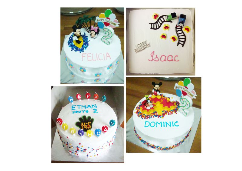 Birthday Cakes For 2 Year Olds
